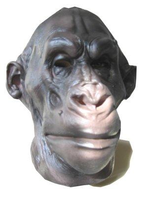 Gorilla masker Latex