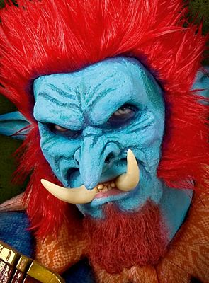 Latex trollen masker compleet