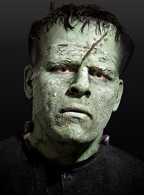 horor huid groen